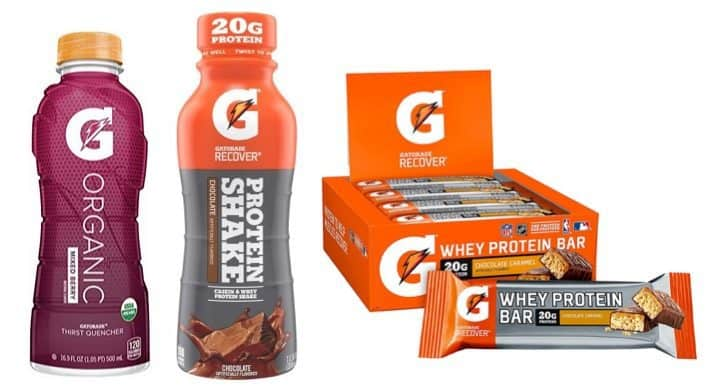 Up to 50% Off Gatorade Performance Products **Today Only**