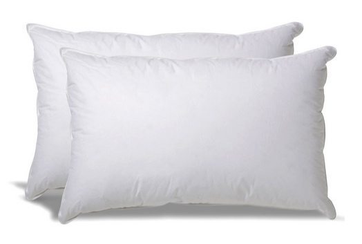 Set of 2 Overfilled Down Alternative Pillows $39.99 **Today Only**