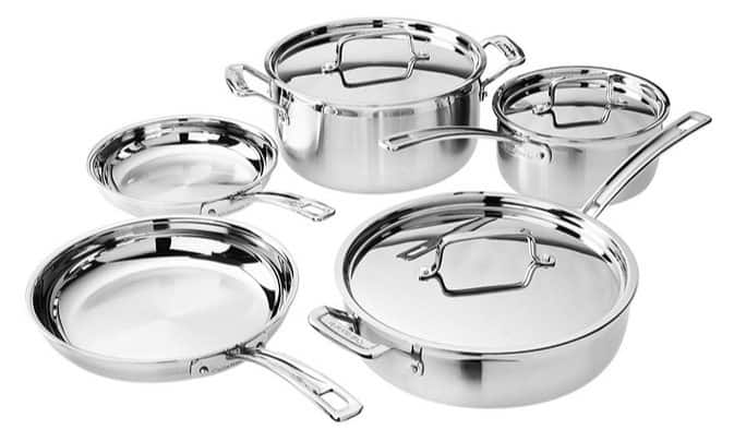 Cuisinart 8-Piece MultiClad Pro Set $139.99 (Was $300) **Today Only**