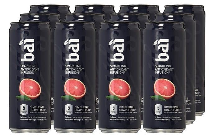 Bai Bubbles Sparkling Antioxidant Infused Beverages 12-Pack $13.06 Shipped **Only $1.09 Each**