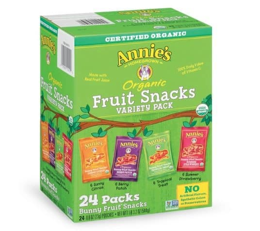 Annie's Organic Fruit Snacks 24-Count $11.17 Shipped **Only 47¢ Each**