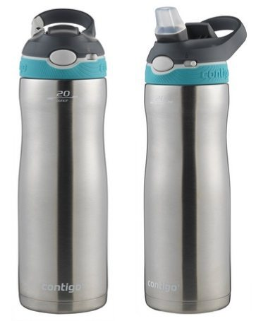 Contigo Autospout Stainless Steel 20oz Water Bottle <br>Only $11.44 (Was $20)