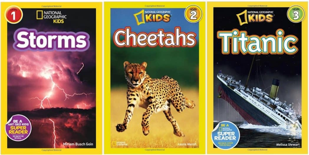 National Geographic Kids' Books as low as $2.19