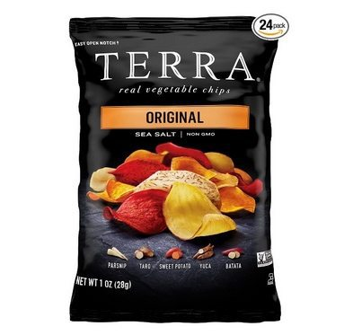 Terra Vegetable Chips 24 Pack $13.49 Shipped **Only 57¢ Each**