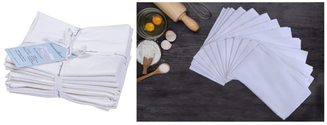 Cotton Kitchen Napkin Flour Sack Towels Only $12.50 (Was $30) **Today Only**