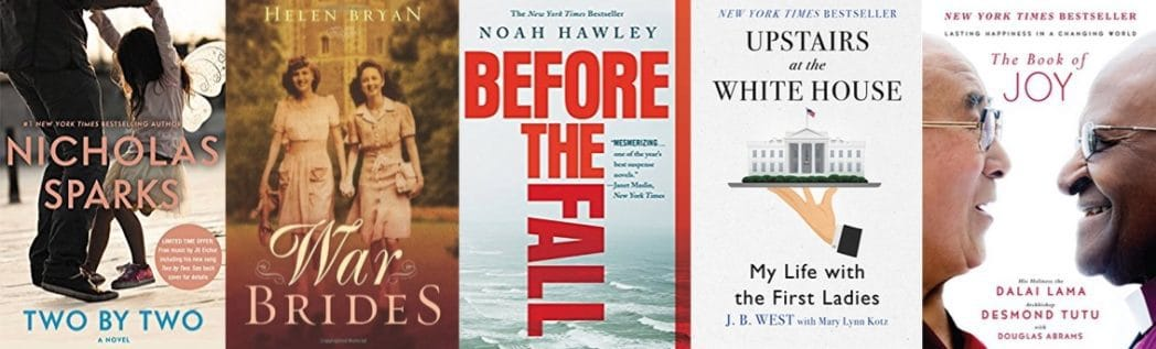 Up to 88% Off Best-Selling Kindle Reads **Today Only**