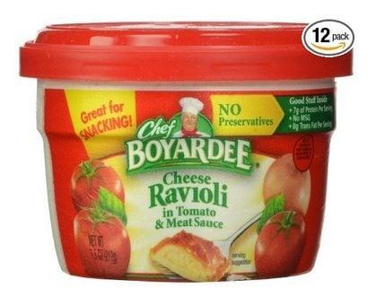 Chef Boyardee Ravioli Microwavable Bowls 12-Pack $6.73 Shipped **Only 56¢ Each**