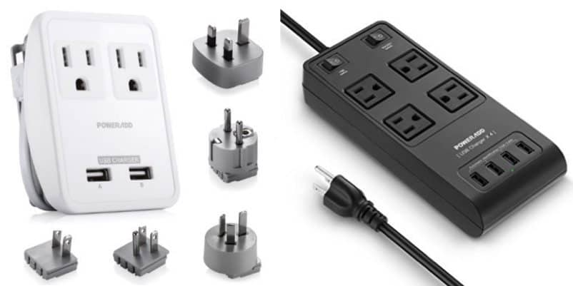 Up to 62% Off Poweradd International Travel Adapter Kit & Surge Protector Power Strip **Today Only**
