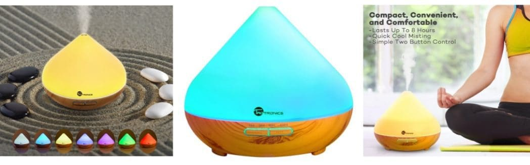 TaoTronics Aromatherapy Essential Oil Diffuser $17.59 (Was $60) **Today Only**