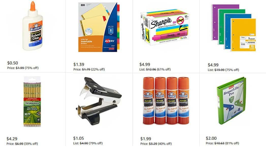 Amazon Back To School Deals Swaggrabber