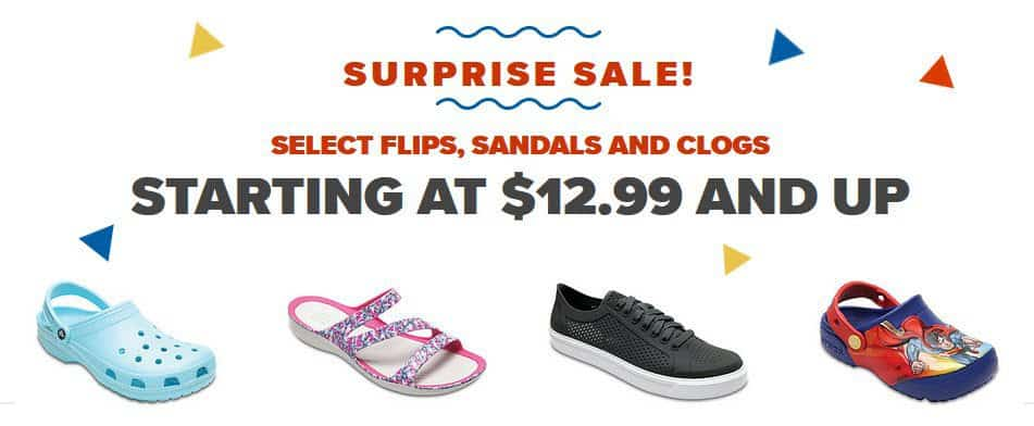Crocs for Whole Family ONLY $12.99 Per Pair
