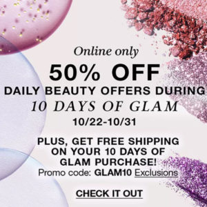Macy's 10 Days of Glam | 50% off LANCOME w/ FREE Shipping