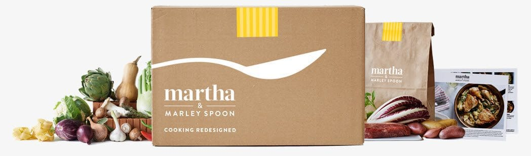 Martha Stewart's Food Delivery Service Marley Spoon - ONLY $3.50 Per Meal