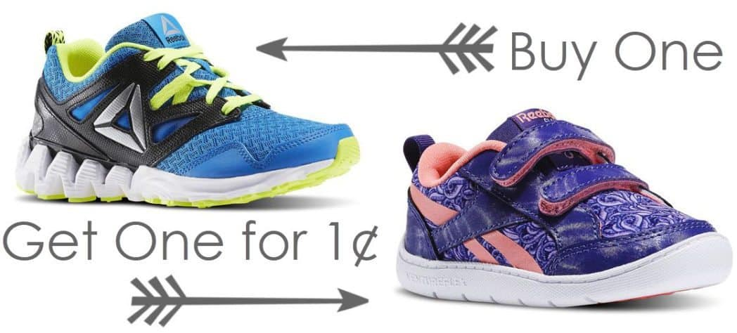 Kids Reebok Shoes - Buy One Get One For $0.01 - 2 Pair Only $25 **Last Chance**