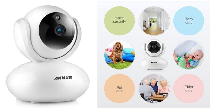 ANNKE HD 1080p Wireless IP Camera $55.99 (Was $200) **Today Only**