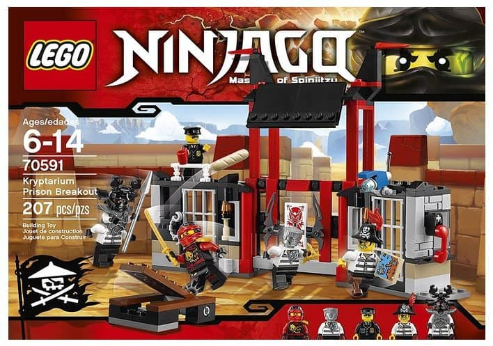LEGO Ninjago Kryptarium Prison Breakout Building Kit Only $13.97