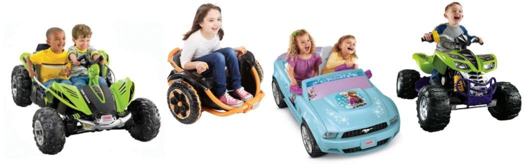 Up to 30% Off Fisher Price Power Wheels **Today Only**