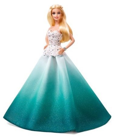 Beautiful Holiday Barbie Doll Only $9.51 (Was $39.88)