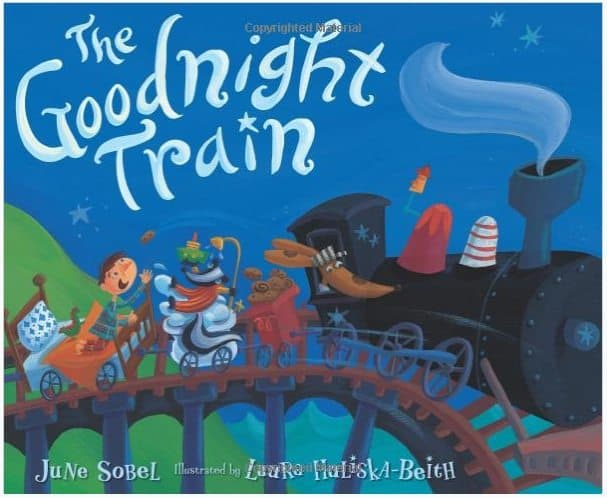 The Goodnight Train Board Book Only $3.30
