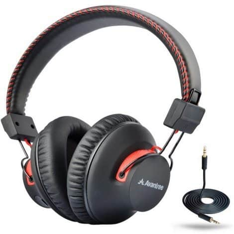 Avantree 40 hr Wireless/Wired Bluetooth Headphones with Mic $41.24 (Was $80) **Today Only**