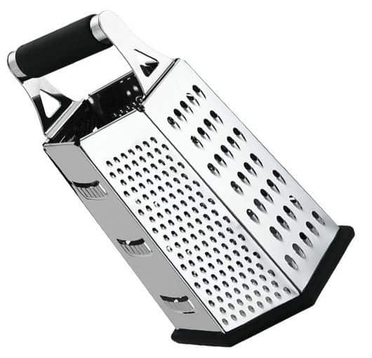 Stainless Steel Box Cheese and Vegetable Grater $11.04