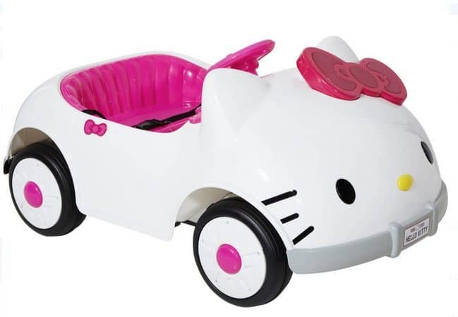 Hello Kitty 6V Battery Powered Ride On Car Only $79 (Was $229)