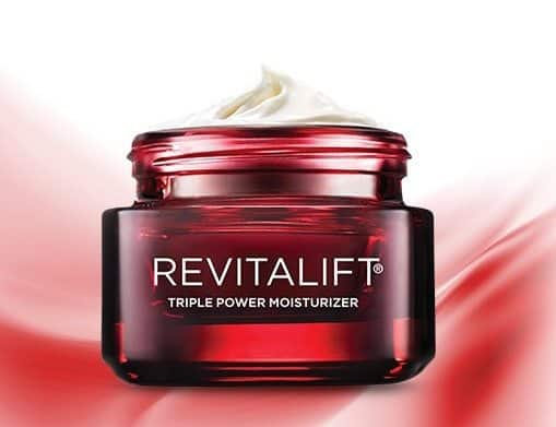 FREE L'Oreal Revitalift Triple Power Moisturizer Sample