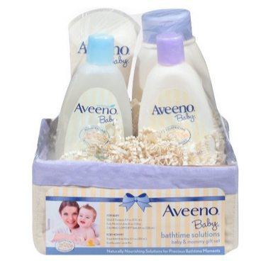 Aveeno Baby Daily Bath Time Solutions Gift Set $13.39
