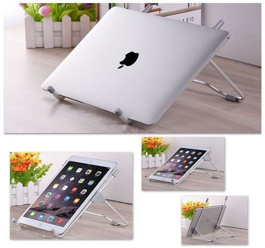 Foldable & Adjustable Notebook Stand for Laptop and Ipad Only $8.69 (Was $27)