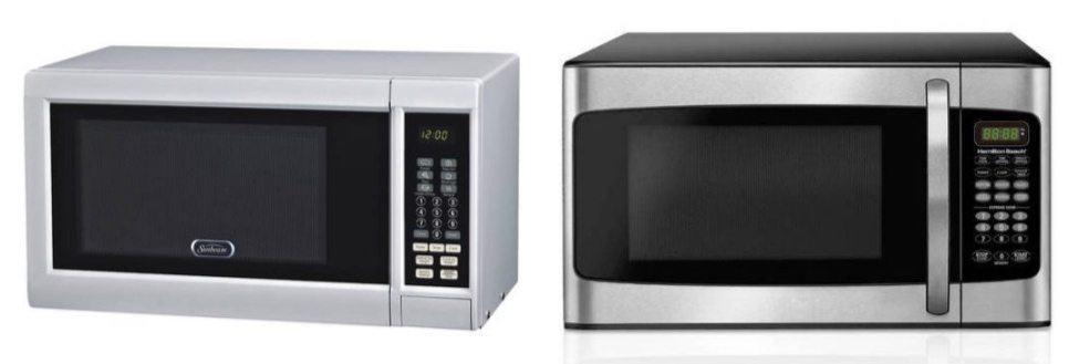 Sunbeam 0.9 cu ft Digital Microwave Only $35 ~ Hamilton Beach 1.1 cu ft Microwave $48.30