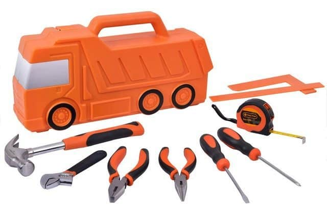 Kid's Truck 10-Piece Tool Kit Only $9.97 (Was $24.97)