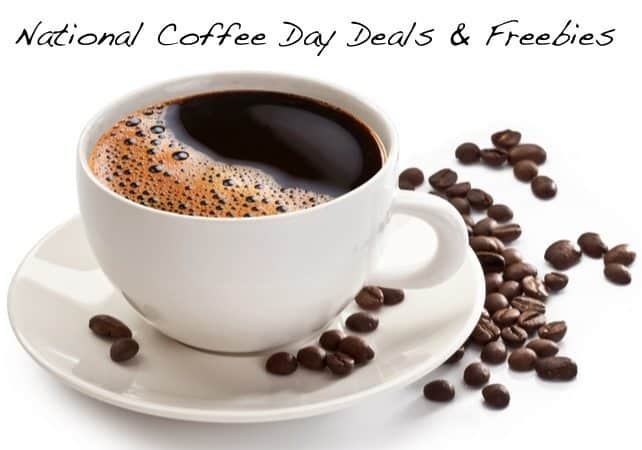 National Coffee Day Deals & Freebies **September 29th**