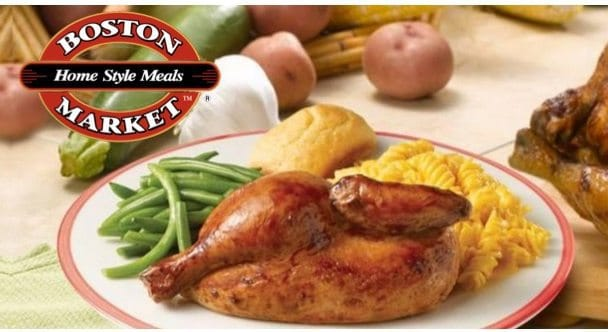 Boston Market Coupon: Buy One Meal, Get One Free