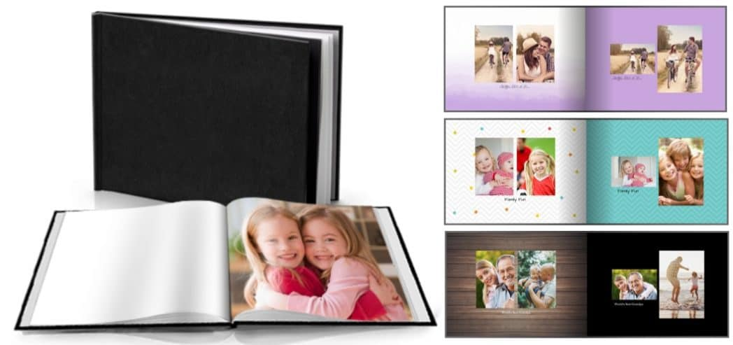 Custom 5×7 Hard Cover Photo Books Only $4