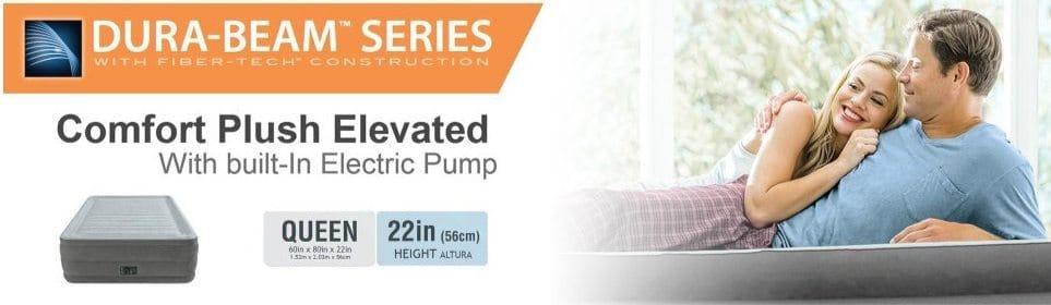 Intex Comfort Plush Elevated Dura-Beam Airbed $39.99