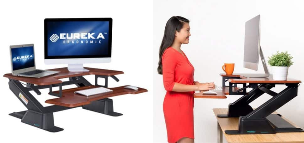 Eureka Ergonomic Height-Adjustable Standing Desk Converter $239.20 Shipped (Was $500) **Today Only**