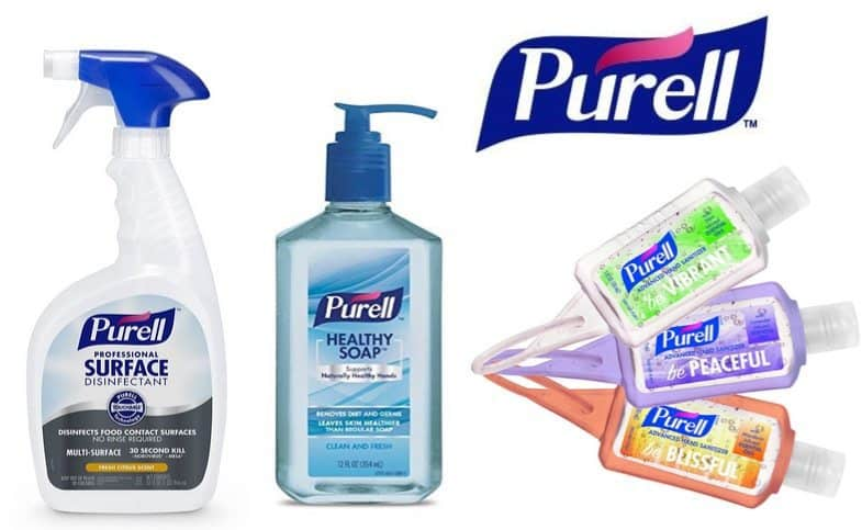 Up to 56% Off Purell Products **Today Only**