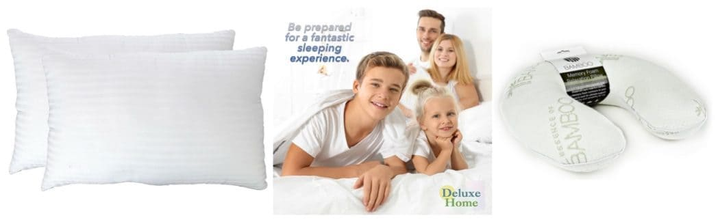 Up to 76% Off Deluxe Home Pillow Collection **Today Only**