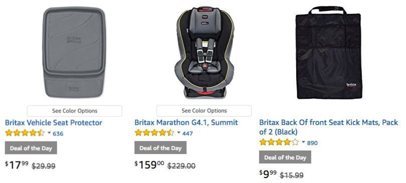 Up to 40% Off Britax Car Seats & Accessories **Today Only**