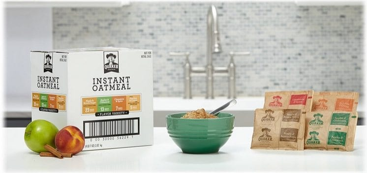 Quaker Instant Oatmeal Variety Pack 48 Count $8.08 Shipped **Only 17¢ Each**
