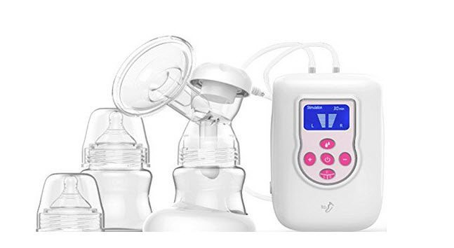 BabySteps Independent Double Electric Breast Pump $55