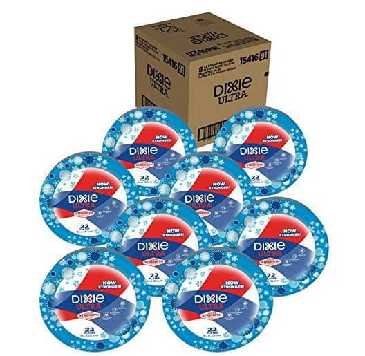 Dixie Ultra Heavy Duty Paper Plates Only $0.08 Per Plate Shipped