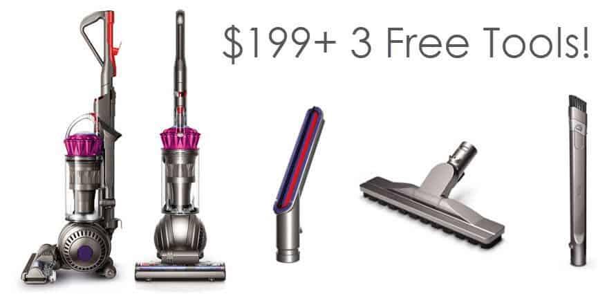 Dyson Ball Multi Floor Origin Vacuum + 3 FREE Tools ONLY $199.99