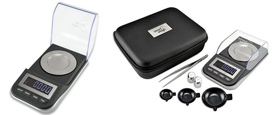 Smart Weigh Premium High Precision Digital Milligram Scale with Case $27.19