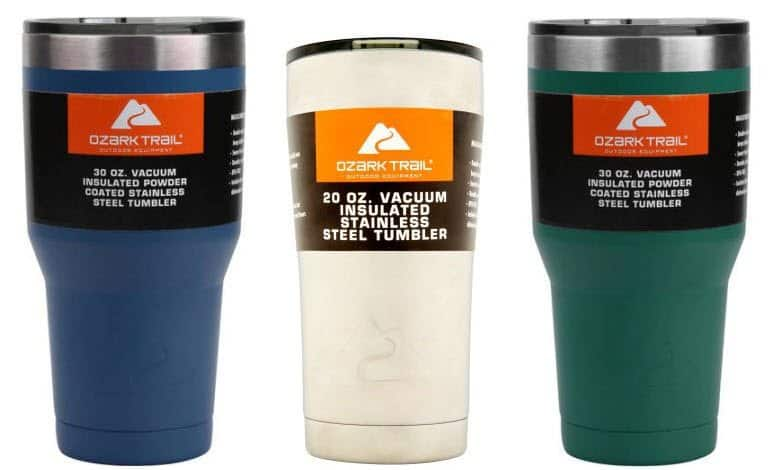 Ozark Tumblers from $5.00 Each with Free In-Store Pick Up at Walmart.com!