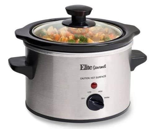 HURRY!! Free Elite Gourmet 1.5-qt Slow Cooker after Cash Back ($12.32 Value) **HOT**