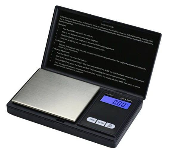 Smart Weigh Elite Series Digital Pocket Scale Only $11.04