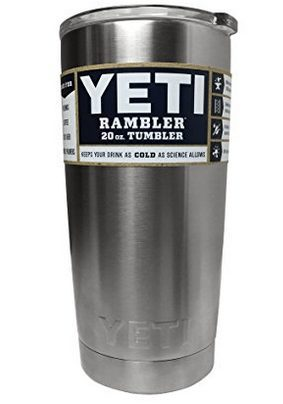 Yeti Rambler Tumbler Stainless Steel, 20 oz $11.99 **HOT**
