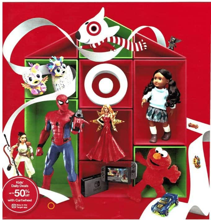2017 Target Toy Book