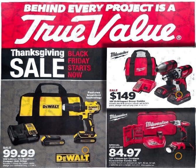2017 True Value Black Friday Ad